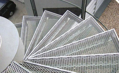 Expanded Metal Stair Treads